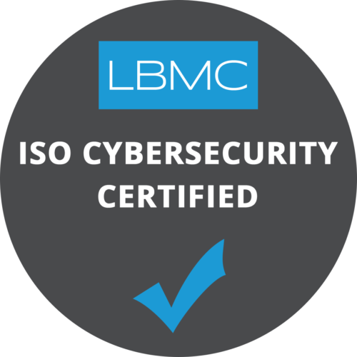 ISO Cyber Security Certified logo